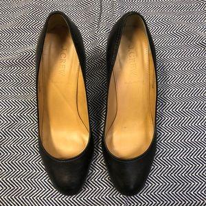 """J.Crew leather Mona pumps. 3"""" heel."""
